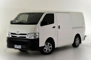 2011 Toyota Hiace KDH201R MY11 LWB White 4 Speed Automatic Van Narre Warren Casey Area Preview