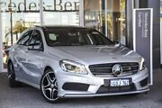 2014 Mercedes-Benz A180 W176 805+055MY D-CT Silver 7 Speed Sports Automatic Dual Clutch Hatchback Osborne Park Stirling Area Preview