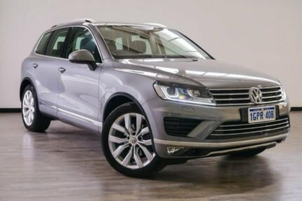 2017 Volkswagen Touareg 7P MY17 V6 TDI Tiptronic 4MOTION Grey 8 Speed Sports Automatic Wagon Myaree Melville Area Preview
