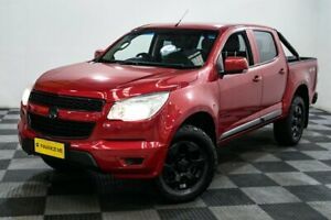 2014 Holden Colorado RG MY14 LX Crew Cab Red/Black 6 Speed Sports Automatic Utility Edgewater Joondalup Area Preview