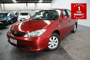 2006 Toyota Camry ACV36R MY06 Altise Burgundy Automatic Sedan Mordialloc Kingston Area Preview