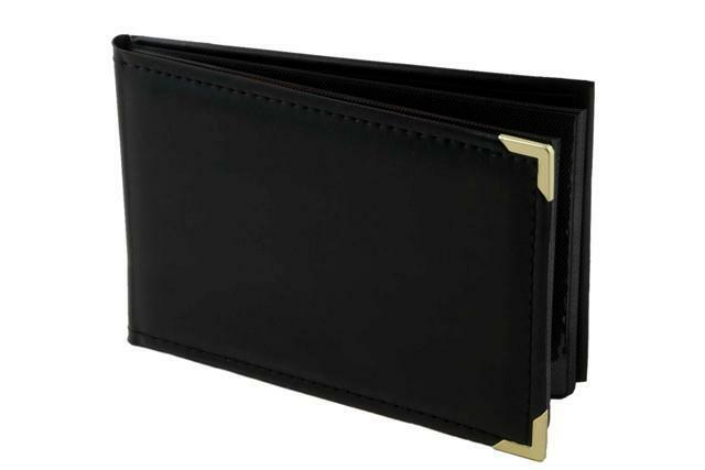 """Kenro Carlton Black Leatherette Album For 6x4"""" Photographs - Holds 36 pictures!"""