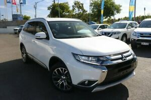 2017 Mitsubishi Outlander ZK MY18 LS AWD White 6 Speed Constant Variable Wagon Slacks Creek Logan Area Preview