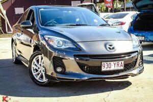 2012 Mazda 3 BL 11 Upgrade SP20 Skyactiv Luxury Dark Grey 6 Speed Automatic Sedan Ipswich Ipswich City Preview