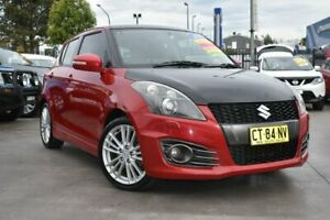 2012 Suzuki Swift FZ Sport Red 7 Speed Constant Variable Hatchback Penrith Penrith Area Preview