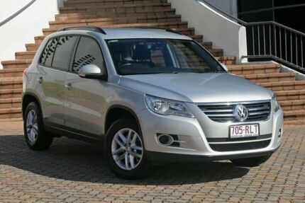 2010 Volkswagen Tiguan 5N MY10 103TDI 4MOTION Silver 6 Speed Sports Automatic SUV