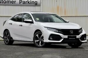 2019 Honda Civic 10th Gen MY19 RS White 1 Speed Constant Variable Hatchback