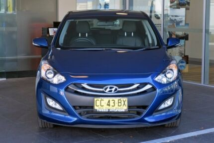 2014 Hyundai i30 GD2 MY14 SE Blue 6 Speed Sports Automatic Hatchback Tweed Heads South Tweed Heads Area Preview