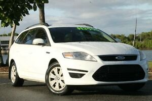2012 Ford Mondeo MC LX PwrShift TDCi White 6 Speed Sports Automatic Dual Clutch Wagon Bungalow Cairns City Preview