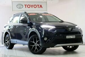 2018 Toyota RAV4 ZSA42R GXL 2WD Black 7 Speed Constant Variable Wagon Waterloo Inner Sydney Preview