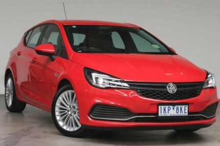 2016 Holden Astra BK MY17 R Absolute Red 6 Speed Manual Hatchback