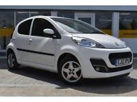 GOOD CREDIT CAR FINANCE AVAILABLE Peugeot 107 1.0 12v ( 68bhp ) 2012.25MY Allure