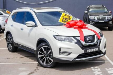 2018 Nissan X-Trail T32 Series II Ti X-tronic 4WD White 7 Speed Constant Variable Wagon Brookvale Manly Area Preview