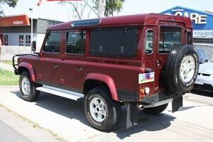 2002 Land Rover Defender 110 02MY X-Treme Burgundy 5 Speed Manual Wagon Altona North Hobsons Bay Area Preview