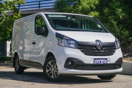 2016 Renault Trafic X82 103KW Low Roof SWB White 6 Speed Manual Van Glendalough Stirling Area Preview