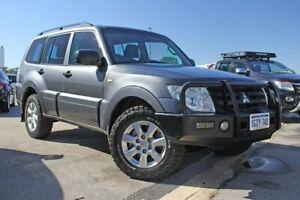 2013 Mitsubishi Pajero NW MY14 GLX Grey 5 Speed Sports Automatic Wagon Rockingham Rockingham Area Preview
