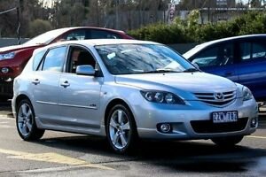 2005 Mazda 3 BK1031 SP23 Silver 5 Speed Manual Hatchback Ringwood East Maroondah Area Preview