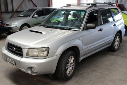 2003 Subaru Forester MY04 XT Silver 5 Speed Manual Wagon Warabrook Newcastle Area Preview