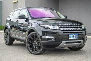 2014 Land Rover Range Rover Evoque L538 MY15 TD4 Pure Tech Black 9 Speed Sports Automatic Wagon