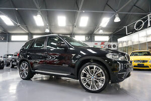 2012 BMW X5 E70 MY12 Upgrade xDrive 30D Black Sapphire 8 Speed Sequential Auto Wagon Port Melbourne Port Phillip Preview
