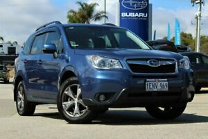 2014 Subaru Forester S4 MY14 2.5i Lineartronic AWD Blue 6 Speed Constant Variable Wagon Greenfields Mandurah Area Preview