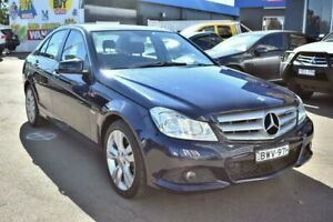 2011 Mercedes-Benz C200 W204 MY11 BlueEFFICIENCY 7G-Tronic + Blue 7 Speed Sports Automatic Sedan Liverpool Liverpool Area Preview