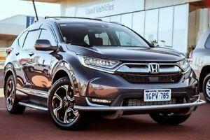 2017 Honda CR-V RW MY18 VTi-LX 4WD Modern Steel 1 Speed Constant Variable Wagon Wangara Wanneroo Area Preview
