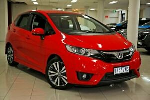 2017 Honda Jazz GF MY17 VTi-L Rally Red 1 Speed Constant Variable Hatchback South Melbourne Port Phillip Preview