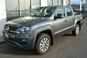 2018 Volkswagen Amarok 2H MY19 TDI550 4MOTION Perm Core Grey 8 Speed Automatic Utility Launceston Launceston Area Preview