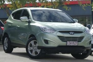 2011 Hyundai ix35 LM MY12 Active Green 6 Speed Sports Automatic Wagon