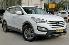 2012 Hyundai Santa Fe DM MY13 Active White 6 Speed Sports Automatic Wagon Chatswood West Willoughby Area Preview