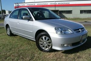 2003 Honda Civic 7th Gen MY2003 GLi Silver 4 Speed Automatic Sedan Eagle Farm Brisbane North East Preview