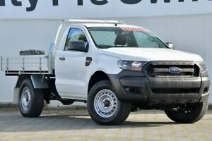 2016 Ford Ranger PX MkII XL Plus White 6 Speed Sports Automatic Cab Chassis Dandenong Greater Dandenong Preview