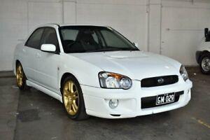 2003 Subaru Impreza S MY03 RS AWD White 5 Speed Manual Sedan
