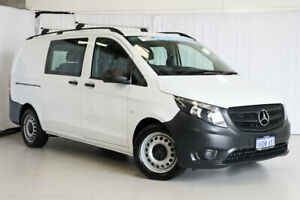 2018 Mercedes-Benz Vito 447 119BlueTEC Crew Cab MWB 7G-Tronic + White 7 Speed Sports Automatic Van Wangara Wanneroo Area Preview