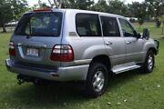 2004 Toyota Landcruiser HDJ100R GXL Silver 5 Speed Automatic Wagon Winnellie Darwin City Preview