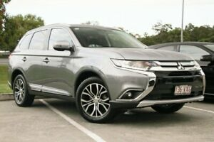 2015 Mitsubishi Outlander ZK MY16 LS 2WD Mercury Grey 6 Speed Constant Variable Wagon