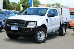 2015 Ford Ranger PX XL White 6 Speed Manual Cab Chassis Midland Swan Area Preview
