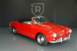 1966 Volkswagen Karmann Ghia S Red Manual Coupe Adelaide CBD Adelaide City Preview