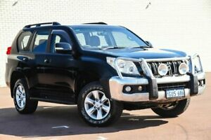2010 Toyota Landcruiser Prado GRJ150R GXL Black 5 Speed Sports Automatic Wagon
