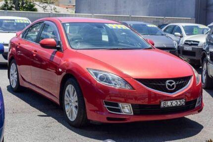 2009 Mazda 6 GH1051 MY09 Luxury Velocity Red 5 Speed Sports Automatic Sedan