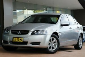 2009 Holden Commodore VE MY09.5 Omega Silver 4 Speed Automatic Sedan Brookvale Manly Area Preview