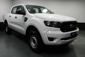 2019 Ford Ranger PX MkIII 2019.00MY XL Hi-Rider White 6 Speed Sports Automatic Double Cab Chassis Telarah Maitland Area Preview