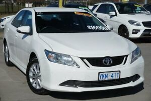 2015 Toyota Aurion GSV50R AT-X White 6 Speed Sports Automatic Sedan Pearce Woden Valley Preview