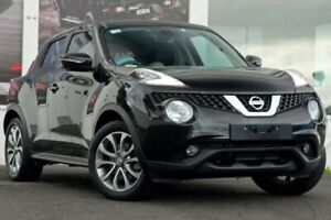 2015 Nissan Juke F15 Series 2 Ti-S X-tronic AWD Black 1 Speed Constant Variable Hatchback Ferntree Gully Knox Area Preview
