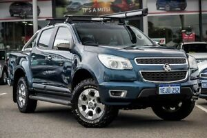 2013 Holden Colorado RG MY13 LTZ Crew Cab Blue 5 Speed Manual Utility Myaree Melville Area Preview