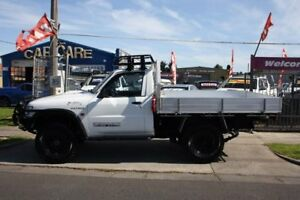 2006 Nissan Patrol GU II DX White 5 Speed Manual Cab Chassis