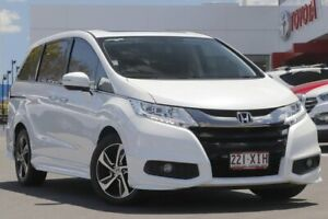 2017 Honda Odyssey White Automatic Wagon Woolloongabba Brisbane South West Preview