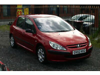 Peugeot 307 2.0 HDI (Cheap diesel with towbar)