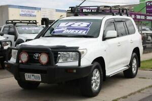 2010 Toyota Landcruiser VDJ200R MY10 GXL White 6 Speed Sports Automatic Wagon Altona North Hobsons Bay Area Preview